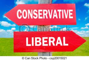 Conservative or liberal
