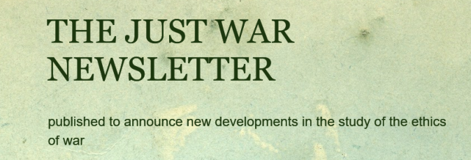 Screenshot_2018-10-17 THE JUST WAR NEWSLETTER