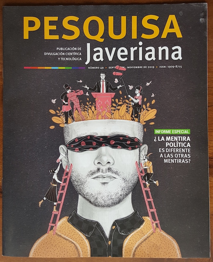 Cover of the magazine Pesquisa Javeriana.